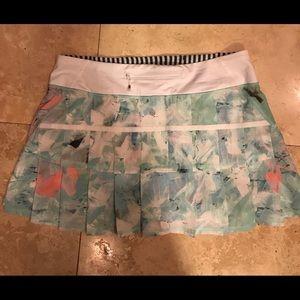 Lululemon Pacesetter Skirt Brushed Illusion